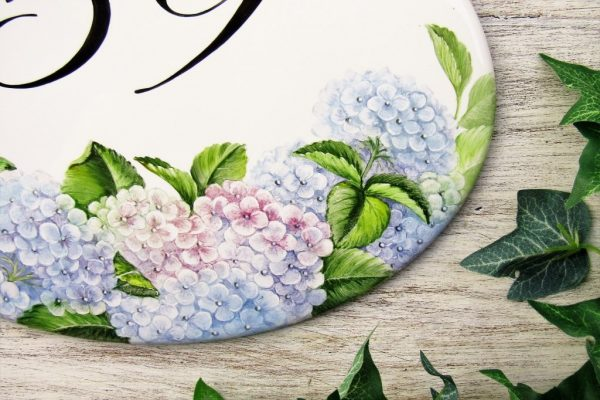 hydrangea floral decor