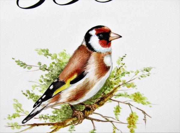 goldfinch custom address sign detail
