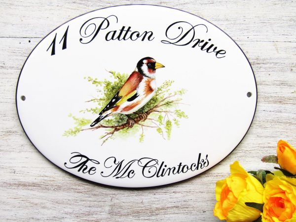 goldfinch custom address sign