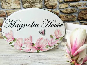 magnolia house name sign