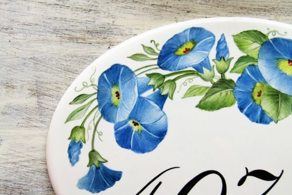 morning glories house number detail